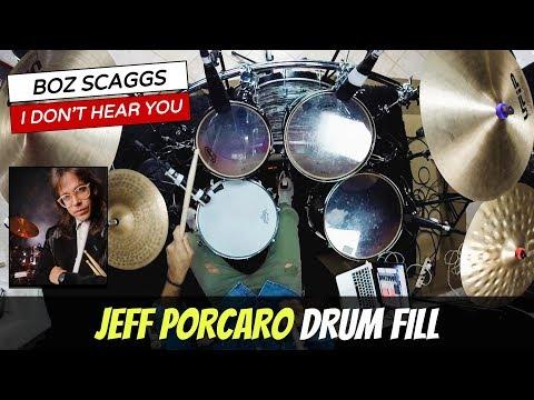 Jeff Porcaro Drum Break (I Don't Hear You) + PDF #214