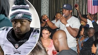 LeSean McCoy involved in Philadelphia brawl with two off-duty cops at Club Recess - TomoNews