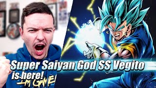 SUPER SAIYAN BLUE VEGITO!! Dragon Ball Legends 2 Year Anniversary Reveal!