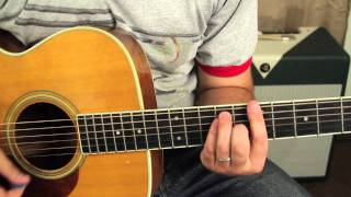 "Bruno Mars - ""The Lazy Song"" - Guitar Lessons - Acoustic - Barre Chords - How to Play"