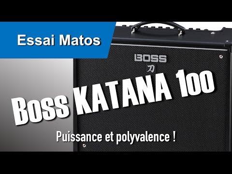 Boss Katana v2 test et demo francais