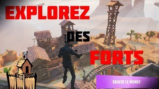 [TUTO] EXPLORE FORTS IN A GHOST ON FORTNITE SLM TOWN!
