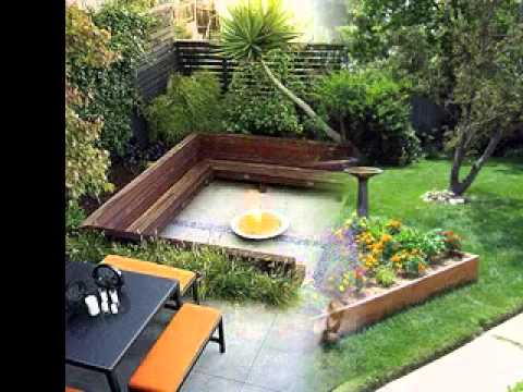 DIY Small backyard garden ideas - YouTube
