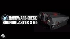 Creative Sound Blaster X G5 | Hardware-Check