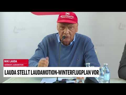 Lauda stellt Laudamotion-Winterflugplan vor