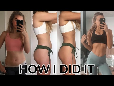How I Changed My Body In 6 Weeks