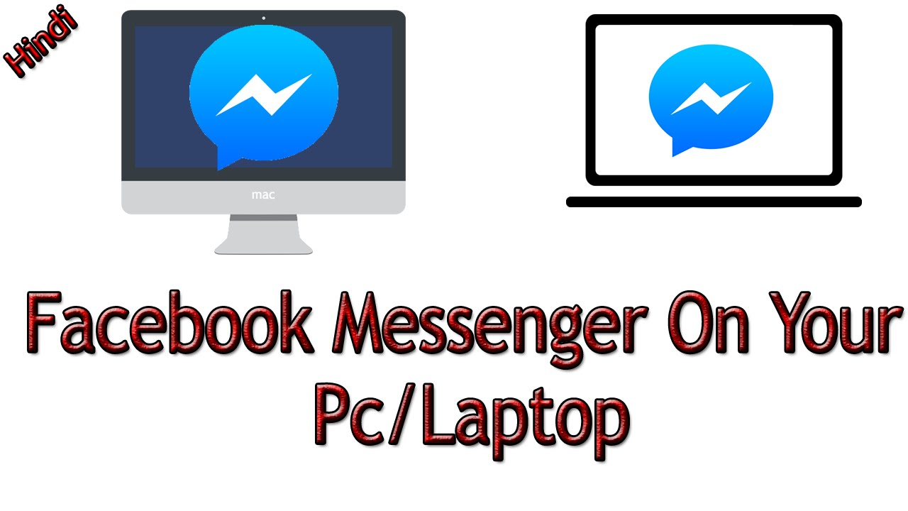 How To Use Facebook Messenger On Your Pc/Laptop [Hindi/Urdu]