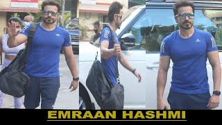 Emraan Hashmi spotted at fitness gym bandra IN MUMBAI II FILMYSTARS II