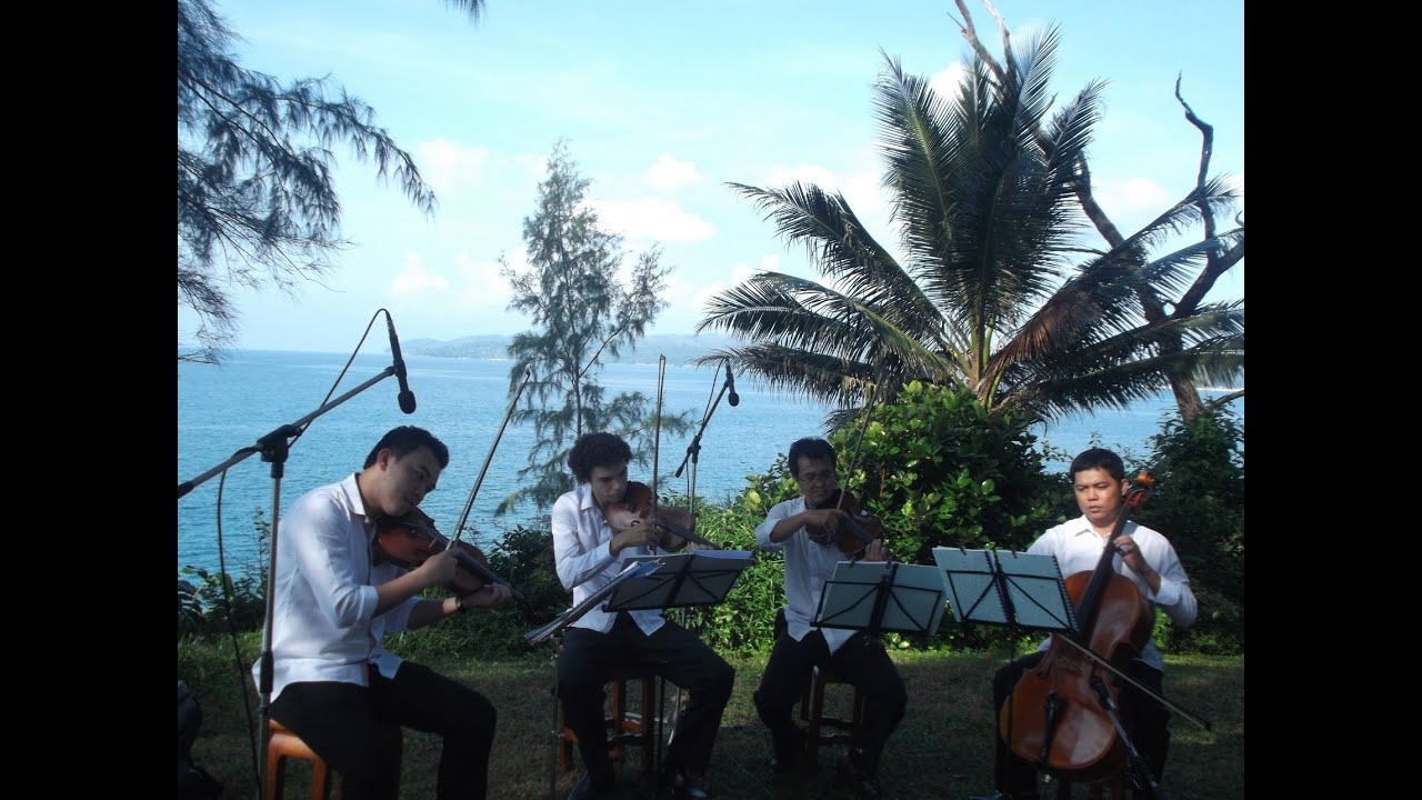 Classical Music For Weddings With String Quartet Wedding Songs Ceremony On The Beach