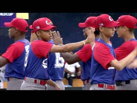 Cuba v Japan - U-15 Baseball World Cup 2018