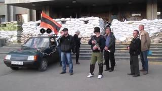Украина Озвучены подробности некоторых перестрелок в Славянске и районе