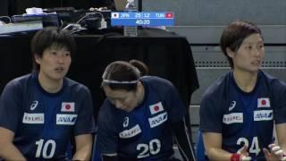 リオオリンピック最終予選 日本vsチュニジア 後半