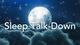 Guided Sleep Meditation, Sleep Talk Down to Remove Limiting Beliefs (With Positive Affirmations)
