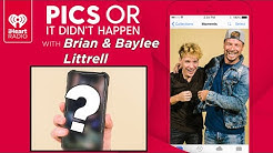 Brian & Baylee Littrell Show Off Personal Photos From Their Phones! | Pics Or It Didn't Happen