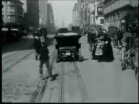 San Francisco 1906 Historical Footage (Restored)