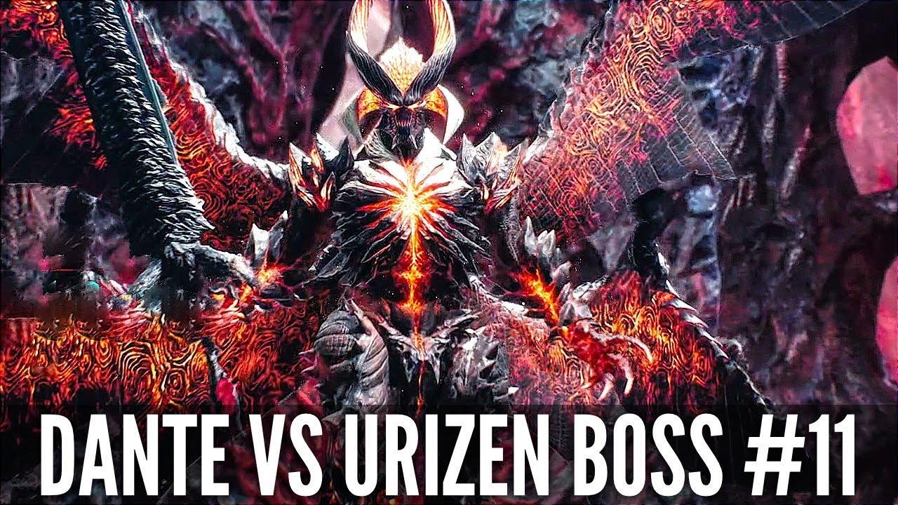 Teufel mai schrei 5 teufel auslöser dante vs urizen boss kampf # 11 (1080p hd 60fps) + video