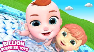 Baby Zayy Bubble Bath Fun Song with Baby Toy