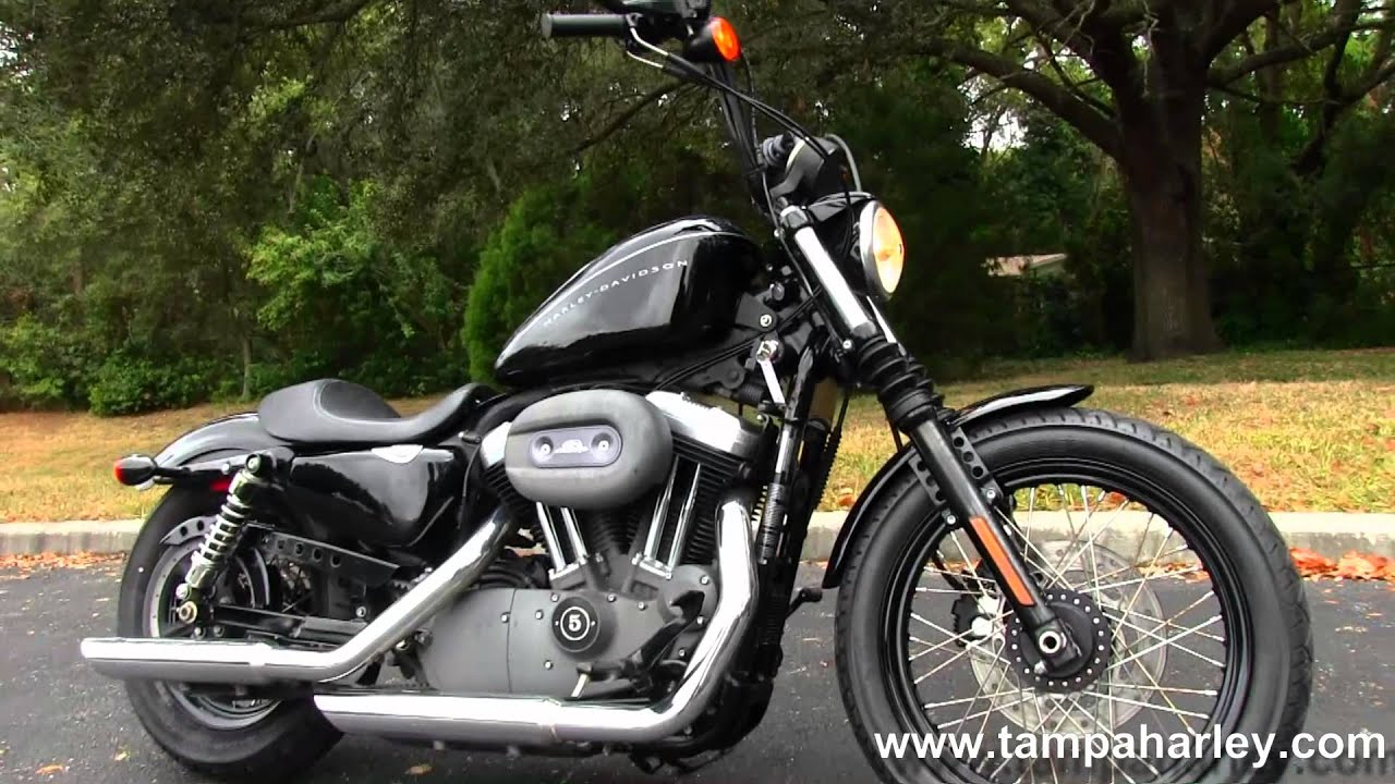 2009 Harley-Davidson XL 1200N Sportster Nightster - YouTube