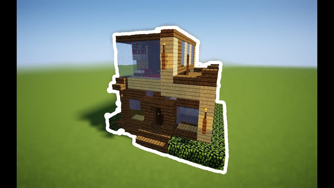 How To Make Mini Modern House In Minecraft Part 1 YouTube