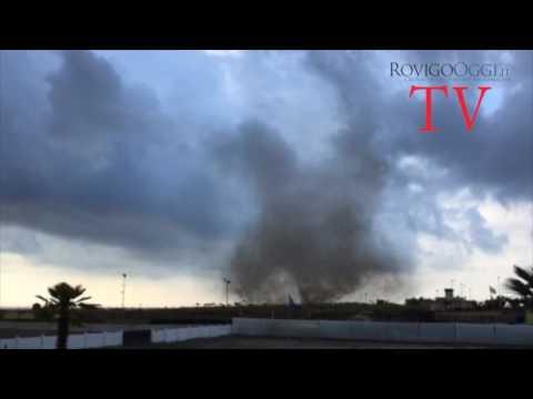Tornado a Chioggia e Sottomarina