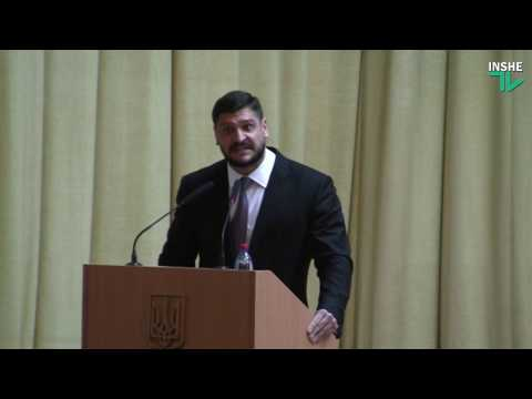 Алексей Савченко кричит на депутатов на сессии облсовета