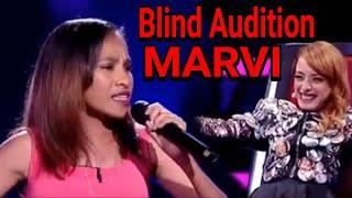 Video THE VOICE Portugal 2018 Audition - Maria Vitoria (MARVI) download MP3, 3GP, MP4, WEBM, AVI, FLV Oktober 2018