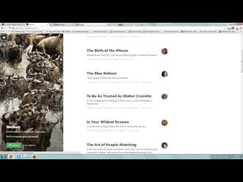 Intro to Medium.com Blogging Platform