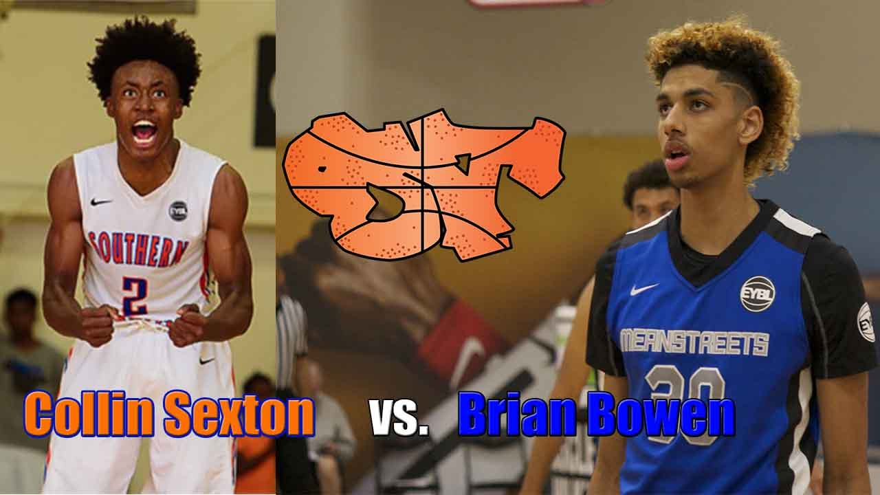 buy popular 84a32 a332e !!! Must Watch !!! Brian Bowen battles Collin Sexton at NIKE EYBL Session 4  in Atlanta