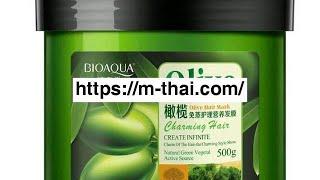 Оливковая маска для волос Bioaqua