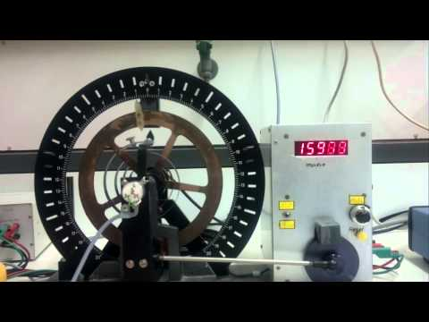 Uni Ulm Grundpraktikum Physik - Versuch 3 Drehpendel - Video 2