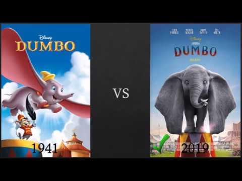 Dumbo 1941 Vs Dumbo 2019 Youtube
