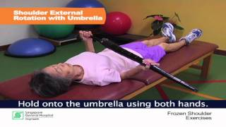 Frozen Shoulder and Physiotherapy Management  - SingHealth Healthy Living Series