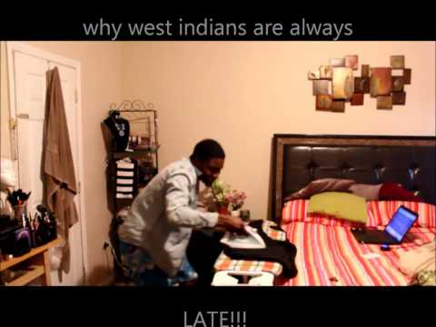 WHY WEST INDIANS ARE ALWAYS LATE @HessostupidTV
