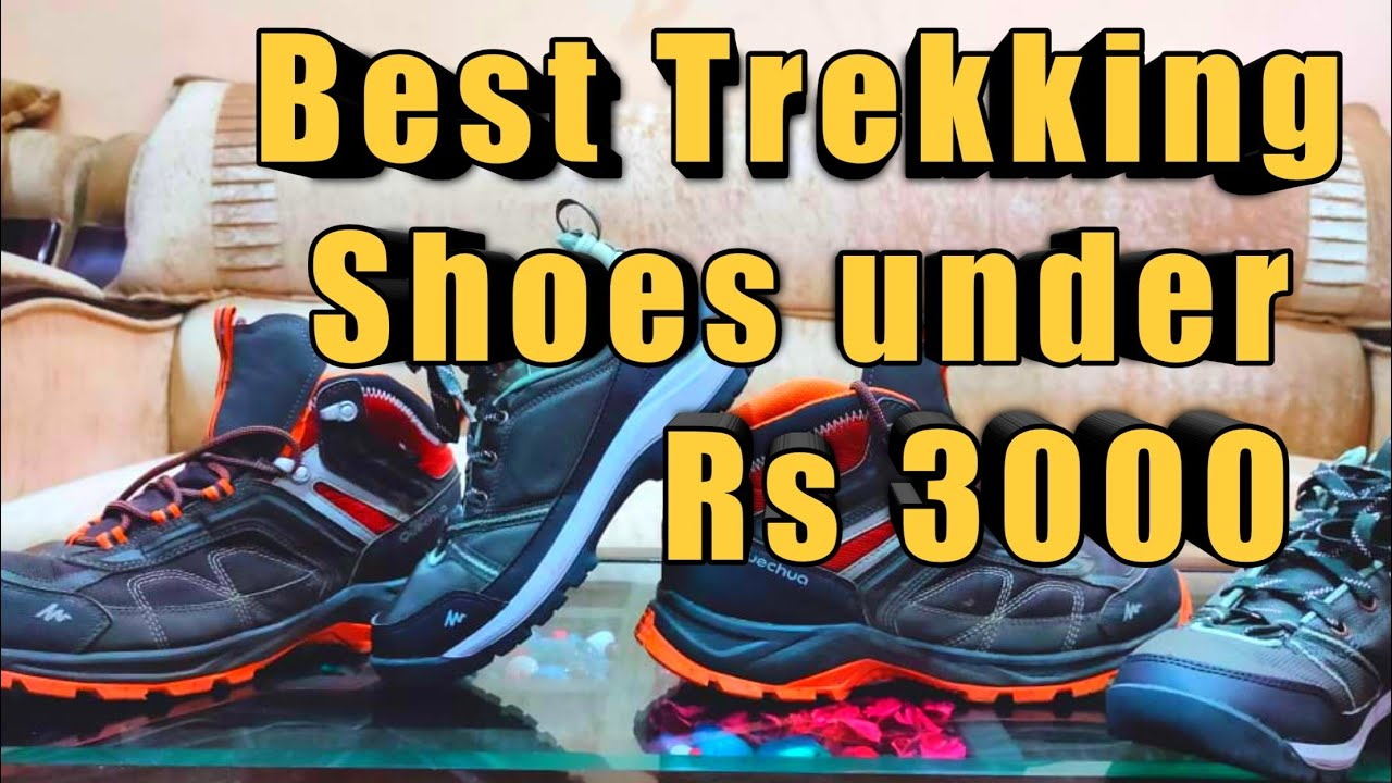 Best Budget Trekking Shoes under Rs