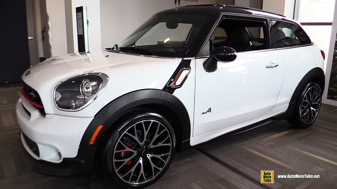 2016 mini john cooper works paceman all4 exterior and interior walkaround 2016 ottawa auto. Black Bedroom Furniture Sets. Home Design Ideas