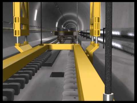Railway technology at the Gothard base tunnel