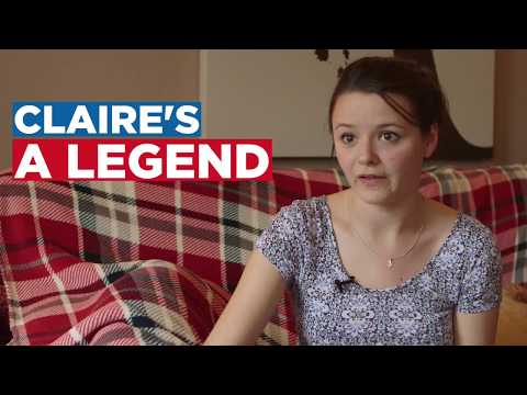 Claire's a legend - her London Marathon story