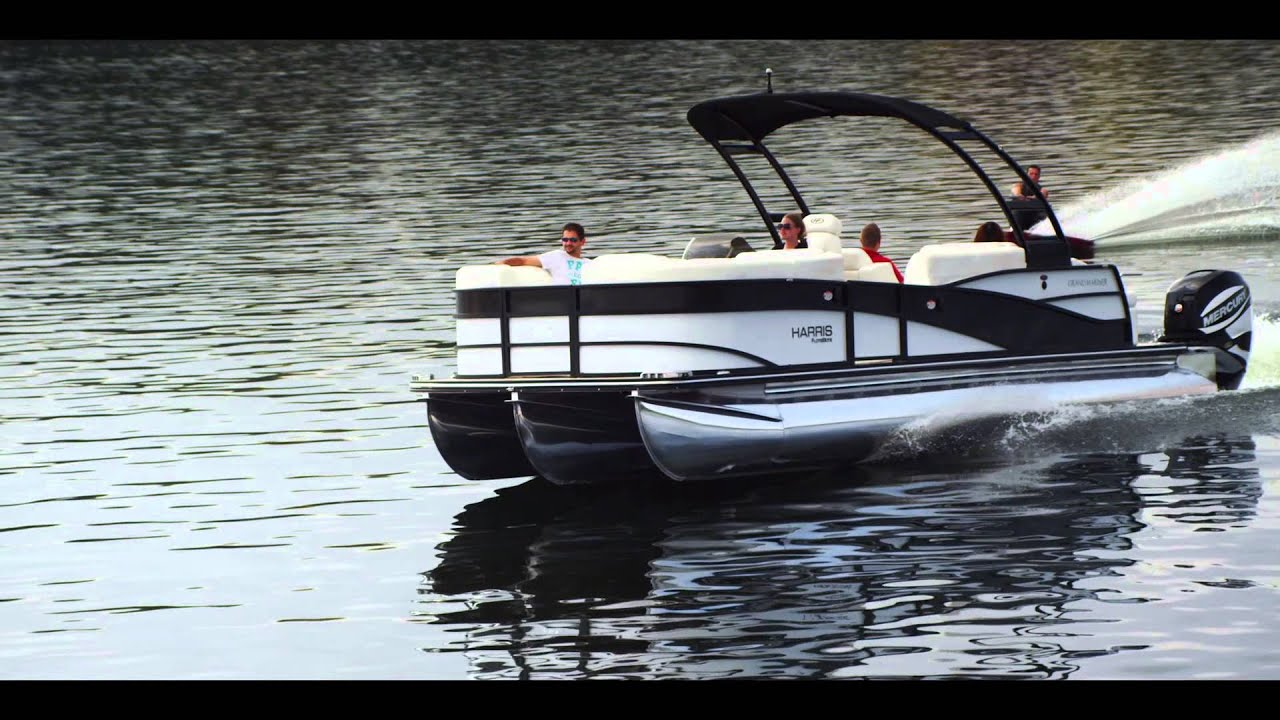 2014 grand mariner pontoon boat twin engine pontoon for Pontoon boat without motor for sale