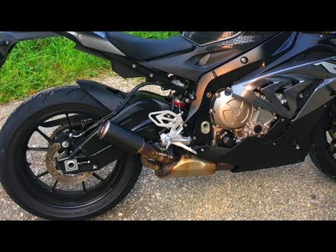 s1000rr 2017 sc project cr t muffler exhaust awesome sound