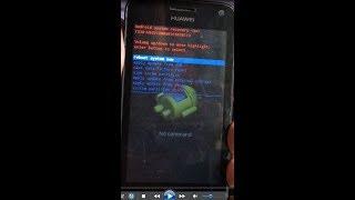 Huawei Y336-U02 Hard Reset