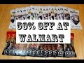 Walmart 50% OFF Magic the Gathering Cards!!!!!