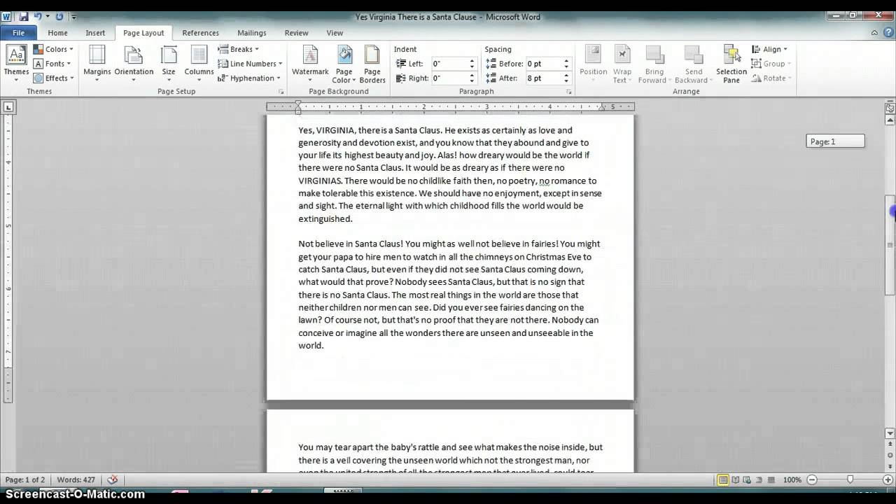 How To Resize An A5 Page A4 In Microsoft Word Office Help