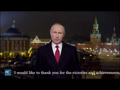 Putin's New Year address:challenges in 2016 united Russia