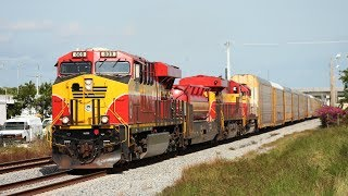 Florida East Coast Railway, CSX, and USSC All in One!