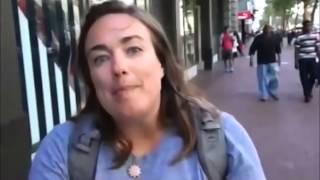 Feminist arrested after attacking a group of Black Hebrew Israelites