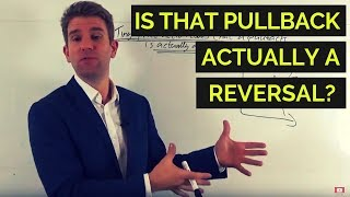 How to Know that a Pullback is Actually a Reversal 📉📈