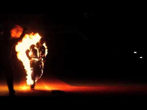 Savannah Sand Gnats Fire Stunt