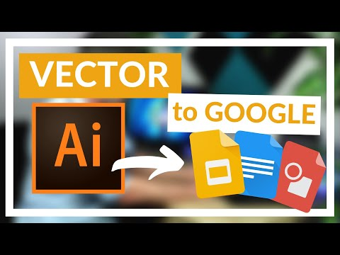 How to Use Adobe vector files in Google Sites and Drive