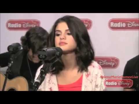 Selena Gomez  - Round u0026 Round Acoustic (Live, Radio Disney)