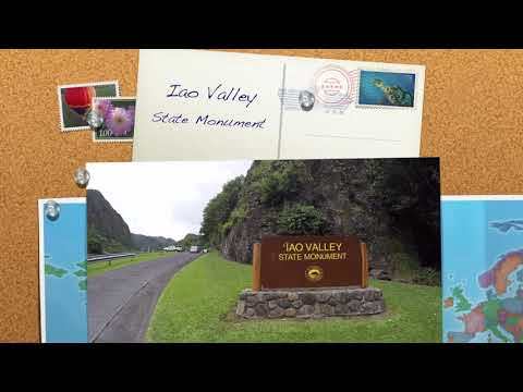Iao Valley State Park, Maui Hawaii